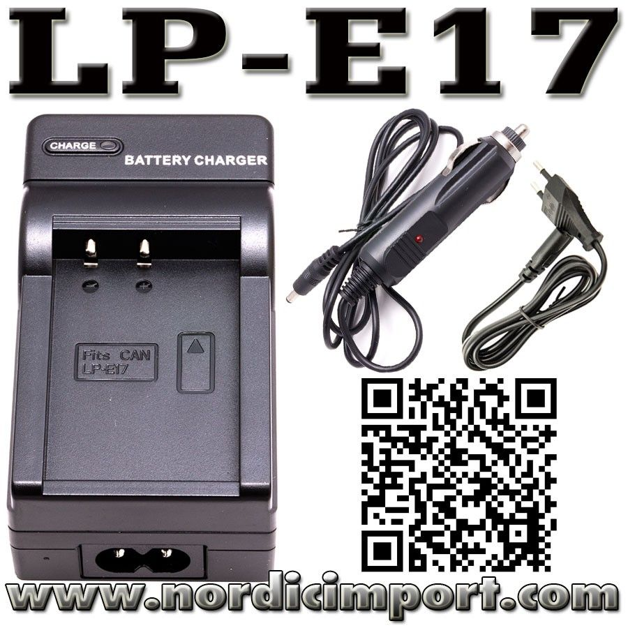 Canon EOS 200D Battery & Charger