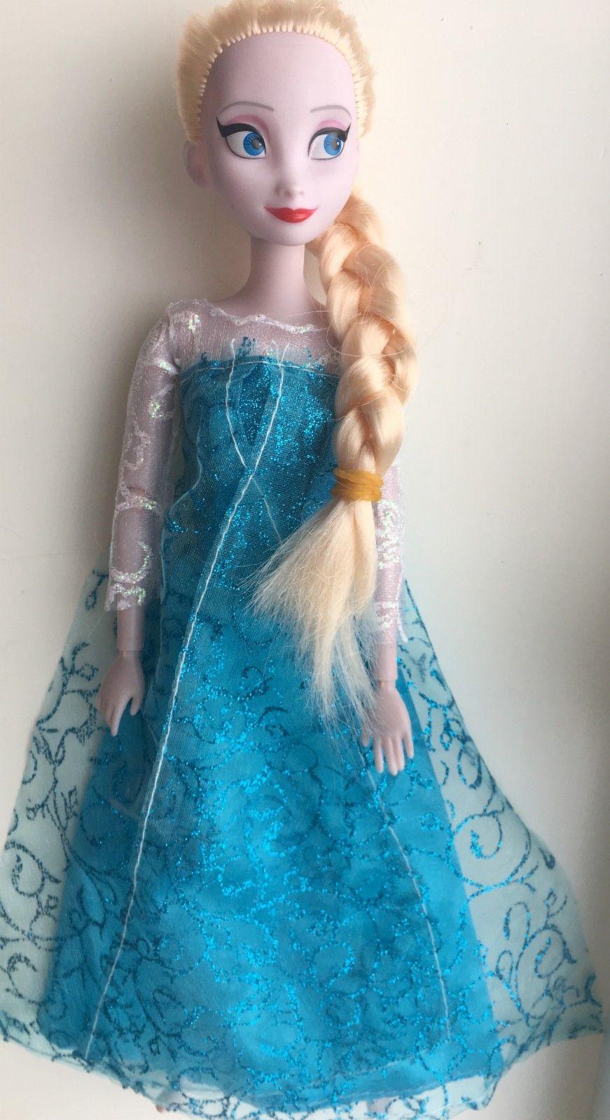 Disney Elsa-dukke - Arendal  - Disney Elsa-dukke, knapt brukt. - Arendal