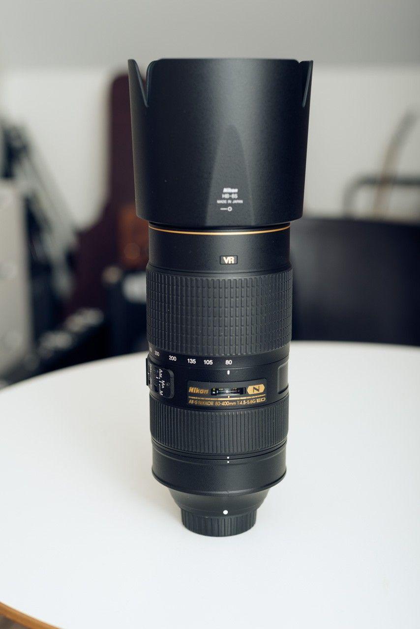 AF-S Nikkor 80-400mm 1:4.5-5.6G ED, AF Nikkor 85mm 1:1.8 D, Manfrotto 058B - Stavanger  - AF-S Nikkor 80-400mm 1:4.5-5.6G ED: 16500,- (Ny pris 23.995,-) Nesten ikke brukt. Telezoom med brennvidde 80-400 mm. Tilsvarer 120–600 mm når det brukes på et Nikon speilreflekskamera med DX-format.   Suveren optisk - Stavanger