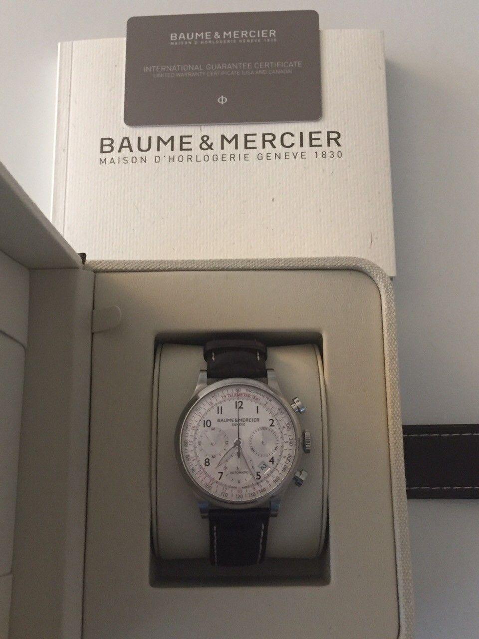 Baume & Mercier - Fjellhamar  - Baume & Mercier Capeland vurderes solgt. Kjøpt ny i Norge i 2015. Kvittering, boks og sertifikat medfølger. Lite brukt. - Fjellhamar
