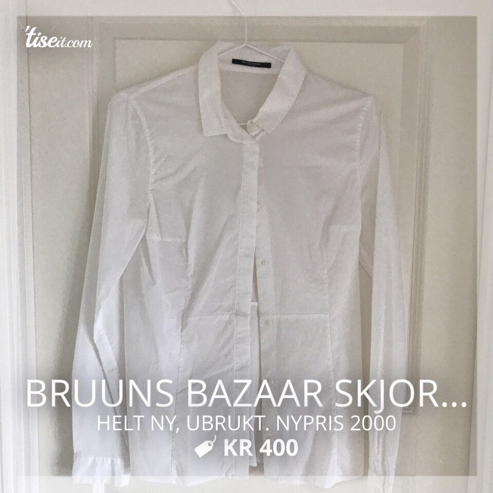 Klassisk hvit skjorte | FINN.no