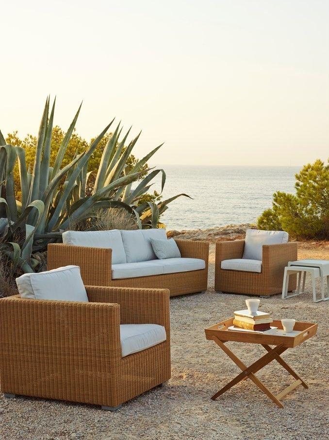 Cane-Line Chester Lounge møbler ønskes kjøpt - Nittedal  - Ønsker å kjøpe 1 stk sofa og 2 stk stoler. Ta kontakt - Nittedal
