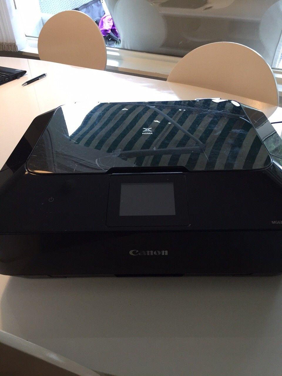 Printer Canon Pixma MG 6350 500,- - Oslo  - Printer Canon Pixma MG 6350 selges for 500,-. Kopi - og scannerfunksjon. Printer ut bilder i høy kvalitet. - Oslo