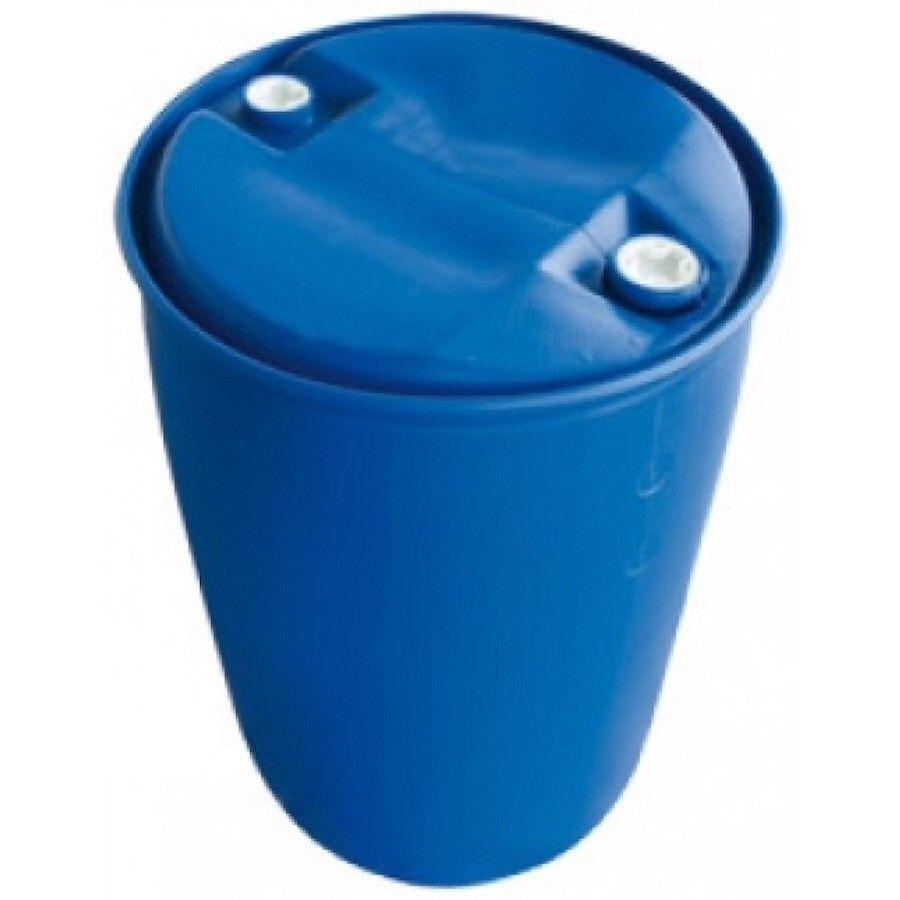 200L blå fat - Frogner  - 200 liters blå plast tønne.  - Frogner