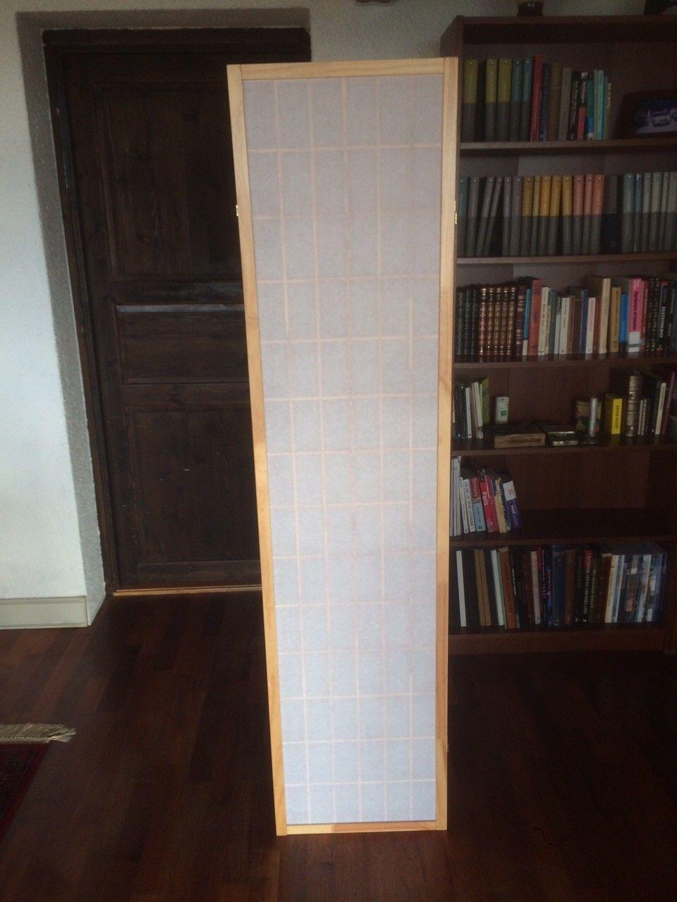 Skillevegg / skjermbrett - Oslo  - Meget pen og anvendelig skillevegg bestående av 4 paneler som måler 43x178,5 cm hver.  Hentes i Holmenkollen - Oslo
