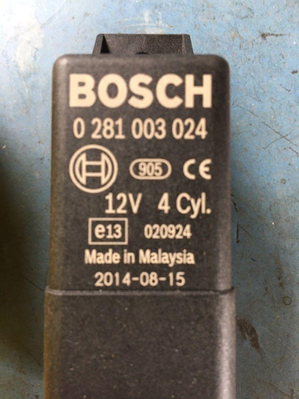 Bil - Vinje  - Nytt gløde relé  Bosch orginal nr :0 281 003 024 - Vinje