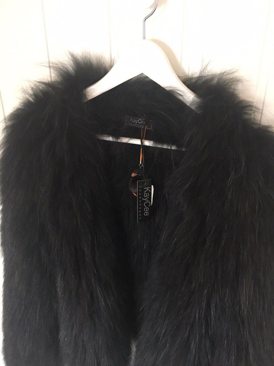 KayCee Copenhagen Cute jacket M/L - Jakobsli  - Selger min helt nye og ubrukte Cute-jacket fra KayCee Copenhagen, i sort.  Kjøpt hos Bello i Trondheim april 2017, å bare hengt til pynt etter.   Det var den siste de hadde i sort så jeg fikk 30% avslag på den da, koster egentlig 6998k - Jakobsli