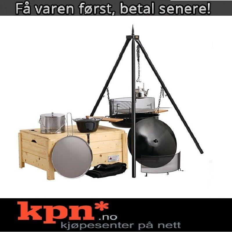 Alle nye Espegard bålpanne Full Pakke i trekasse *Kampanjetilbud* | FINN.no PI-43