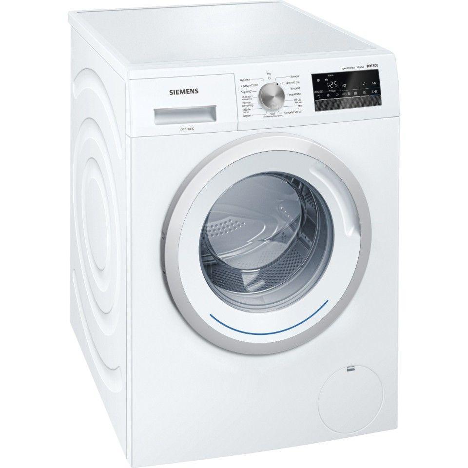 Siemens vaskemaskin - Ulset  - Siemens iSensoric vaskemaskin (WM14N2E8DN)  Kjøpt i mars 16, selges med kvittering, for detaljer se: https://www.elkjop.no/product/hvitevarer/vaskemaskin/WM14N2E8DN/siemens-isensoric-vaskemaskin-wm14n2e8dn - Ulset