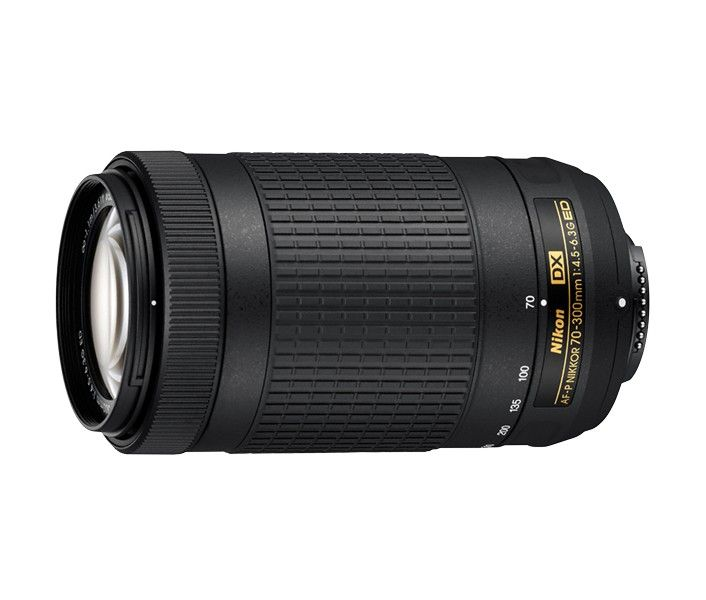 Nikon 70-300mm AF-P DX f/4.5-6.3G ED - Rasta  - Nytt og ubrukt objektiv selges med orginalembalasje. Se følgende link for produktbeskrivelse: