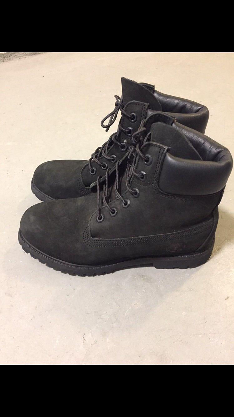 Timberland Boots. - Oslo  - Timberland 6 Inch Premium Boots i sort. Størrelse 38 (7 W). Kun brukt to ganger.  Kjøpt for 1699 kr på Timberland i Oslo, har kvittering. - Oslo
