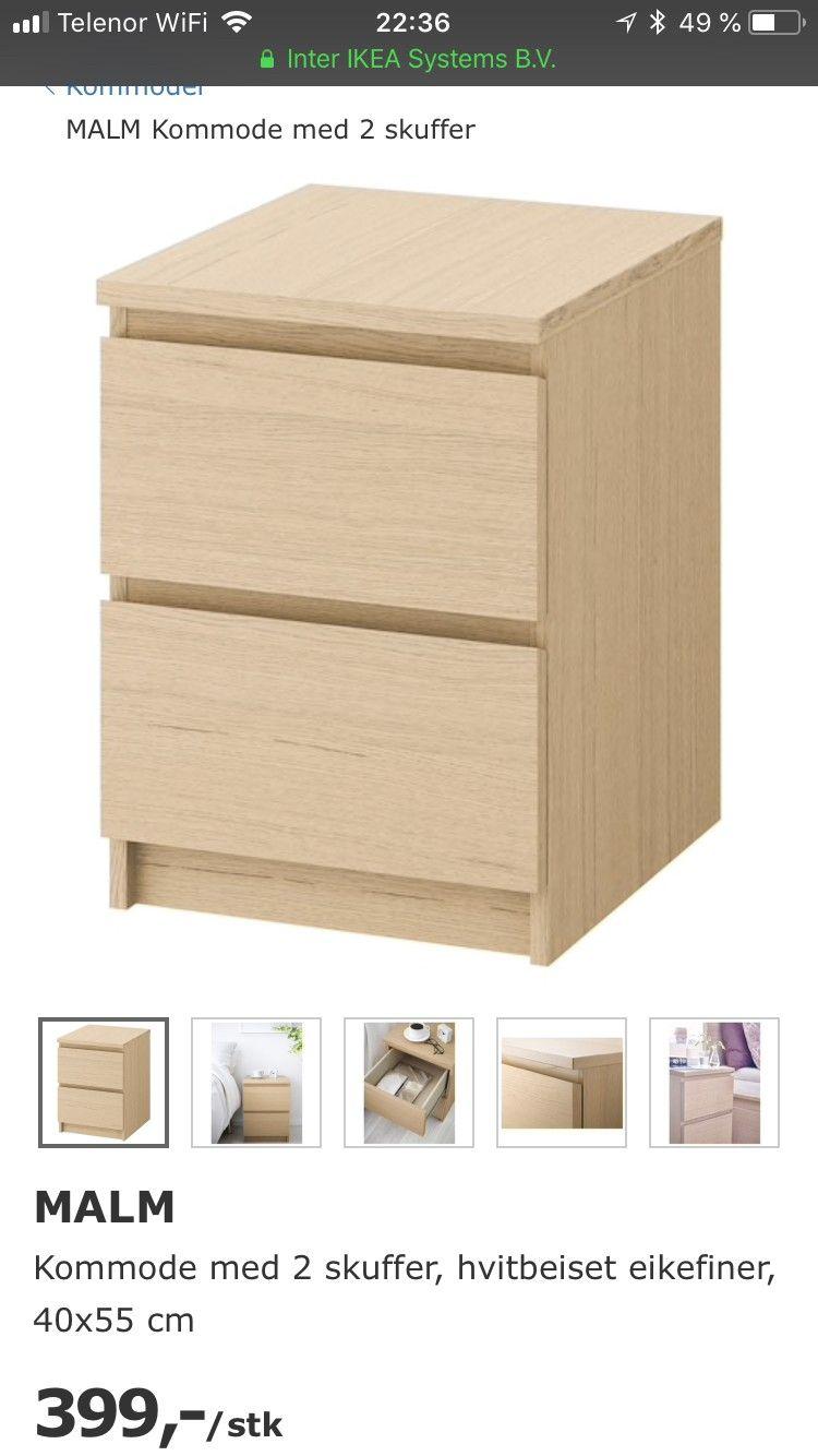Ikea Kommode Malm