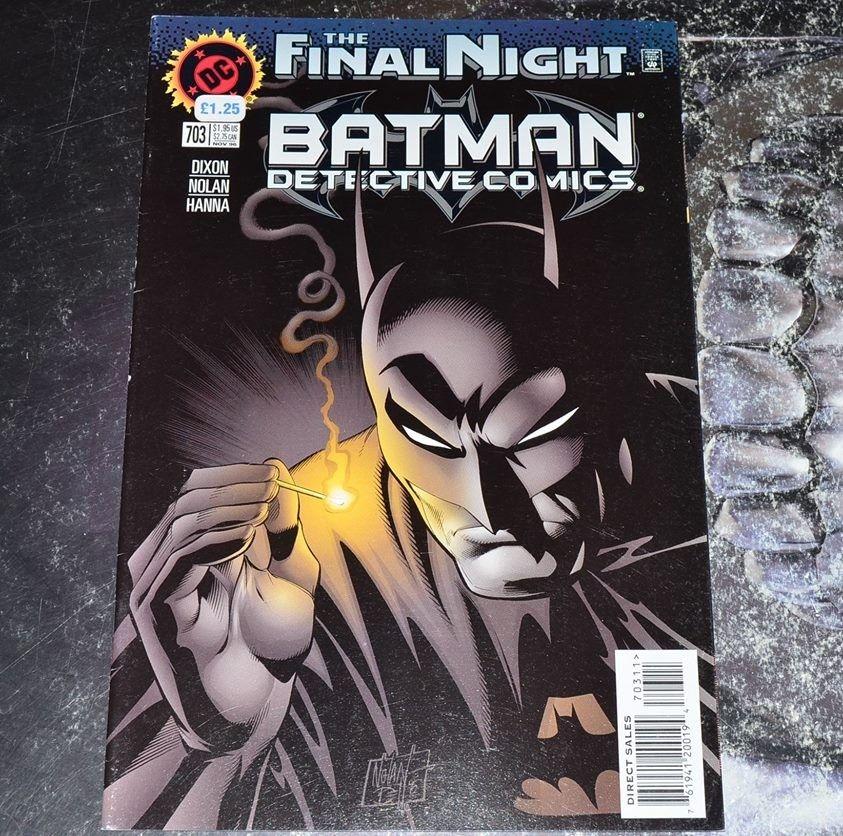 Siste Batman tegneserier