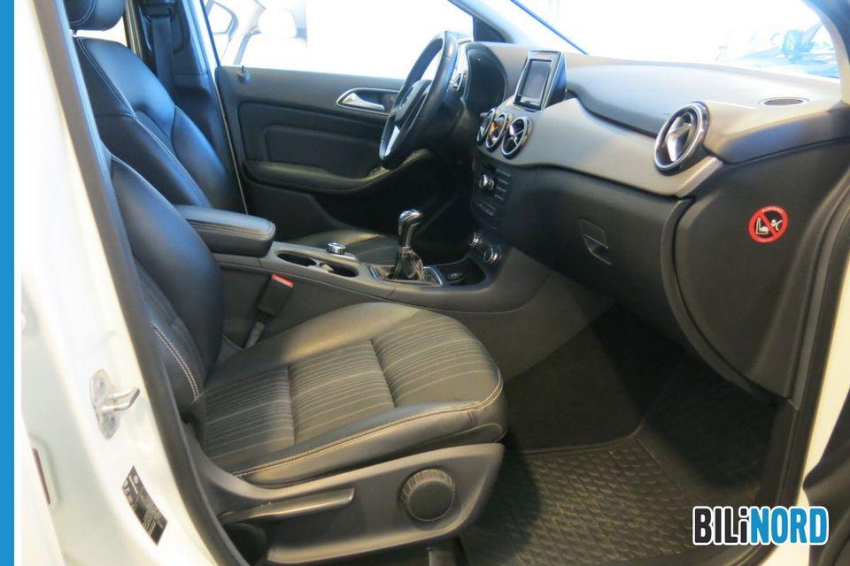 Bilbilde: Mercedes-Benz B-Klasse