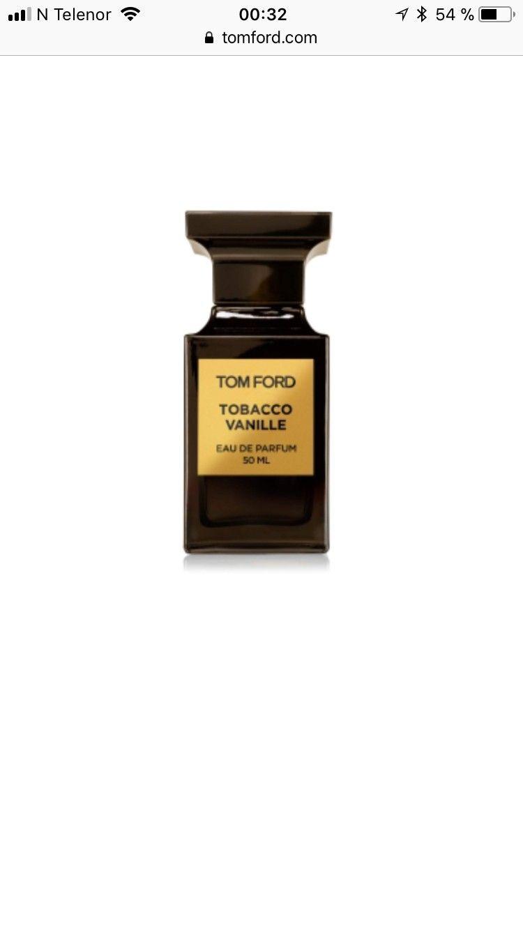 Tom Ford Tobacco Vanille parfyme - Stavanger  - Tom Ford's Tobacco Vanille private blend 50ml selges. Fantastisk duft! Lite brukt (ca 5ml).  Kjøper betaler frakt.    Om parfymen:  DESCRIPTION OPULENT. WARM. ICONIC.   TOM FORD'S AFFECTION FOR LONDON INSPIRE - Stavanger