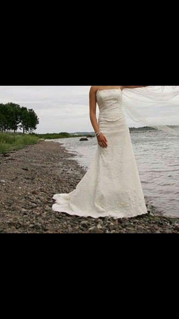364e0c22 Nydelig spansk-inspirert Pronovias brudekjole selges. Str. 36-38. Brukt en  gang   FINN.no