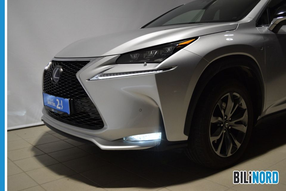 Bilbilde: Lexus NX 300h