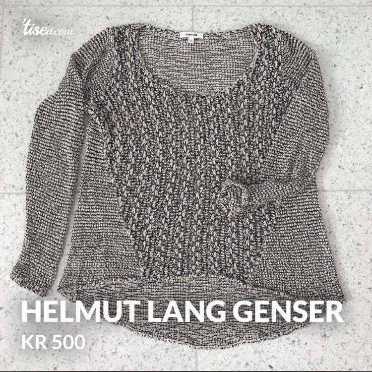 a2408efc Helmut Lang strikkegenser | FINN.no