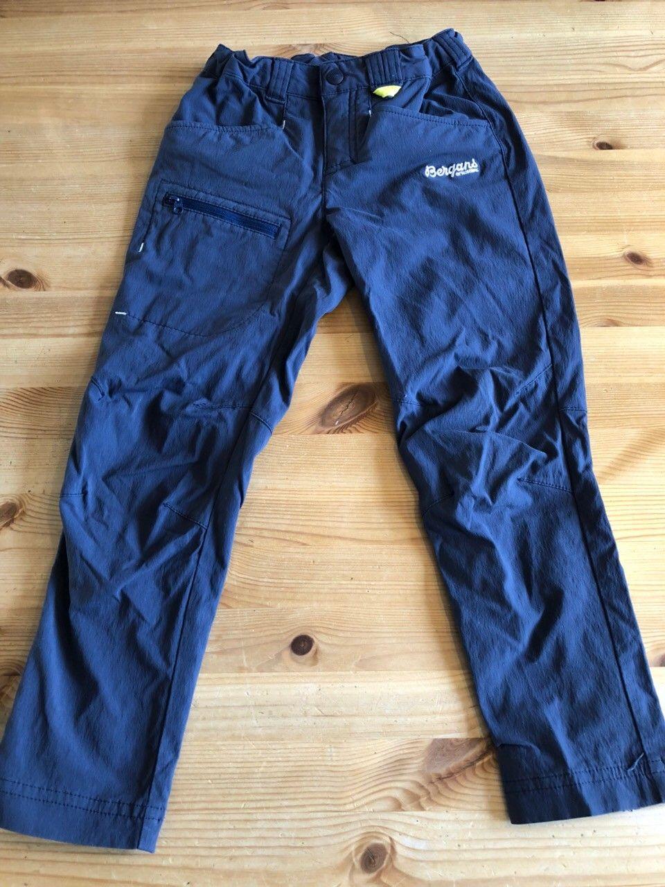 Bergans Utne softshell bukse str 116 | FINN.no