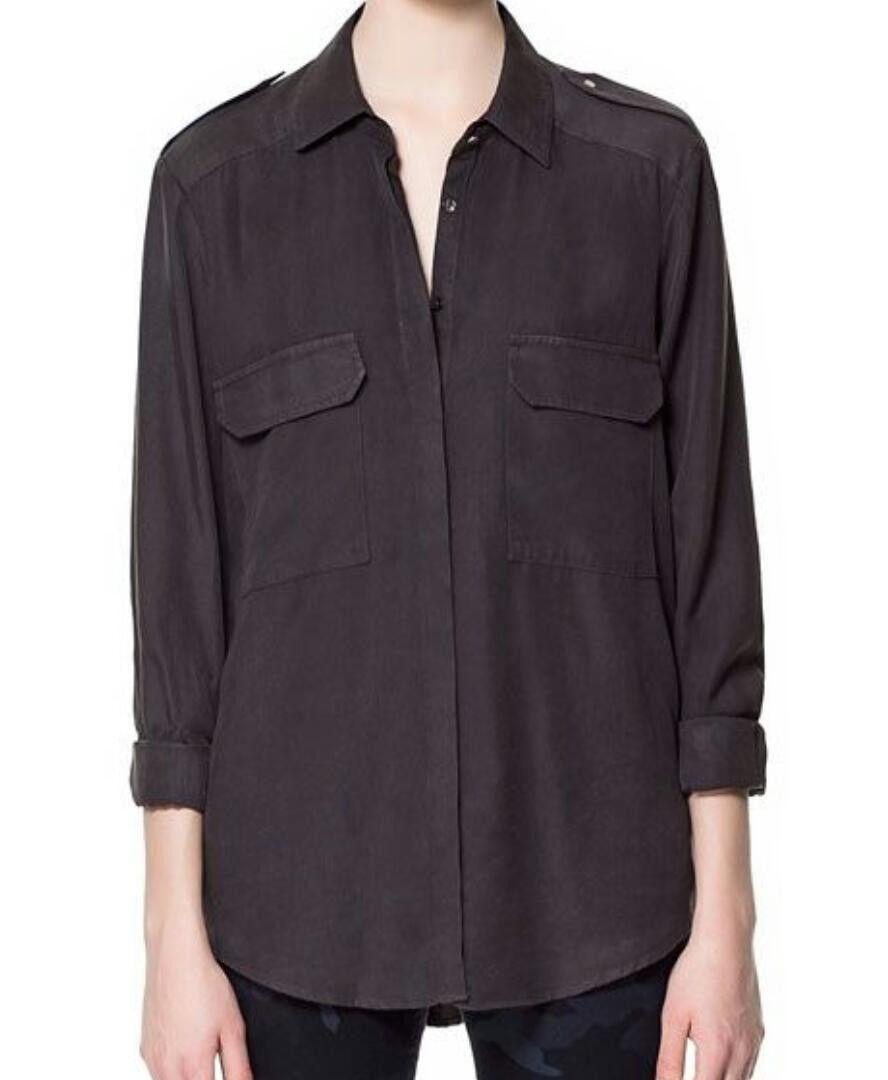 Zara skjorte (lyocell) | FINN.no