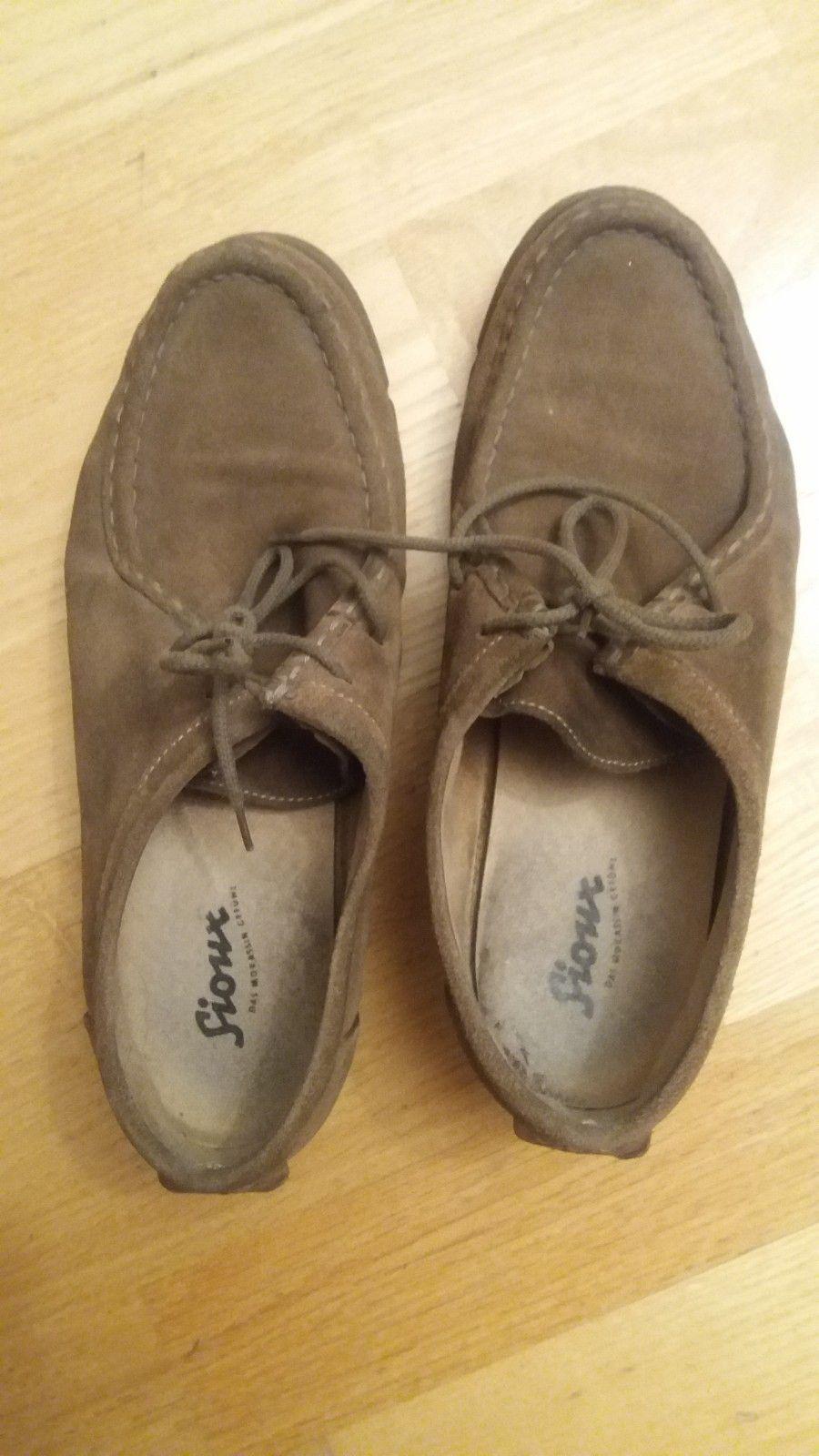 e91095a356f Gode sko å gå i beige brun grå str 39 Sioux | FINN.no