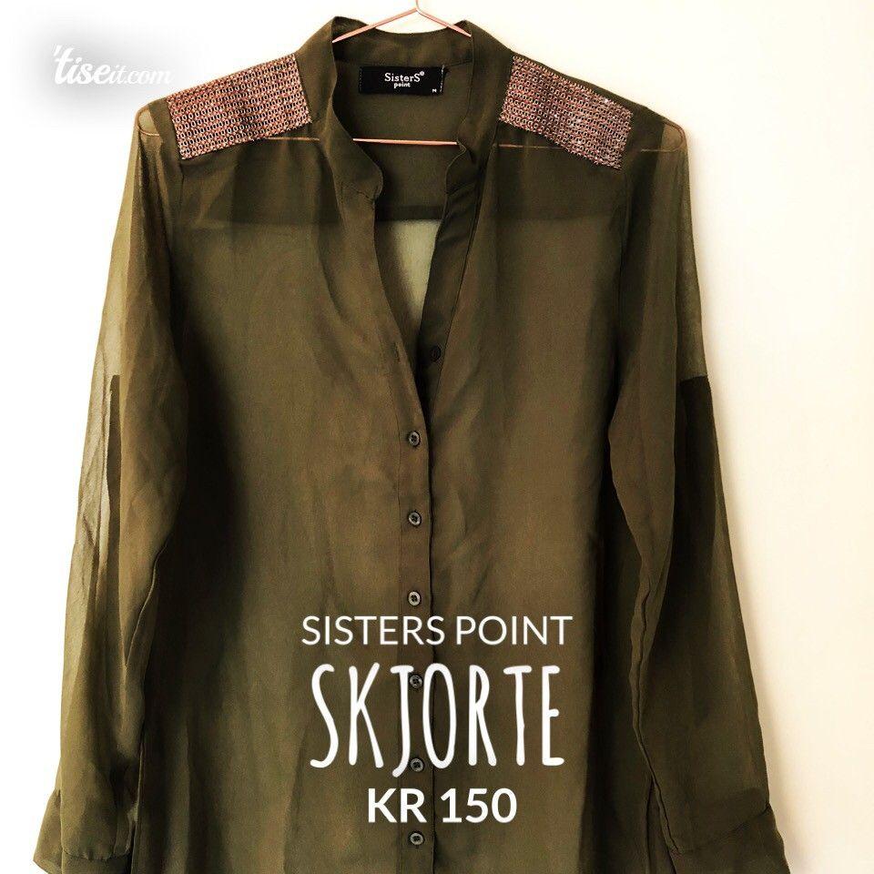 b9040a4e Sisters point skjorte | FINN.no