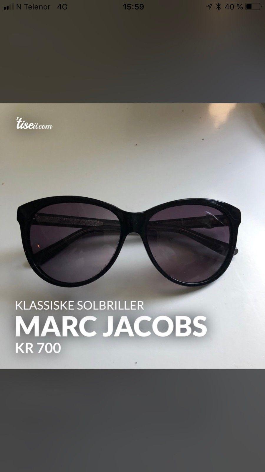 Marc Jacobs solbriller   FINN.no