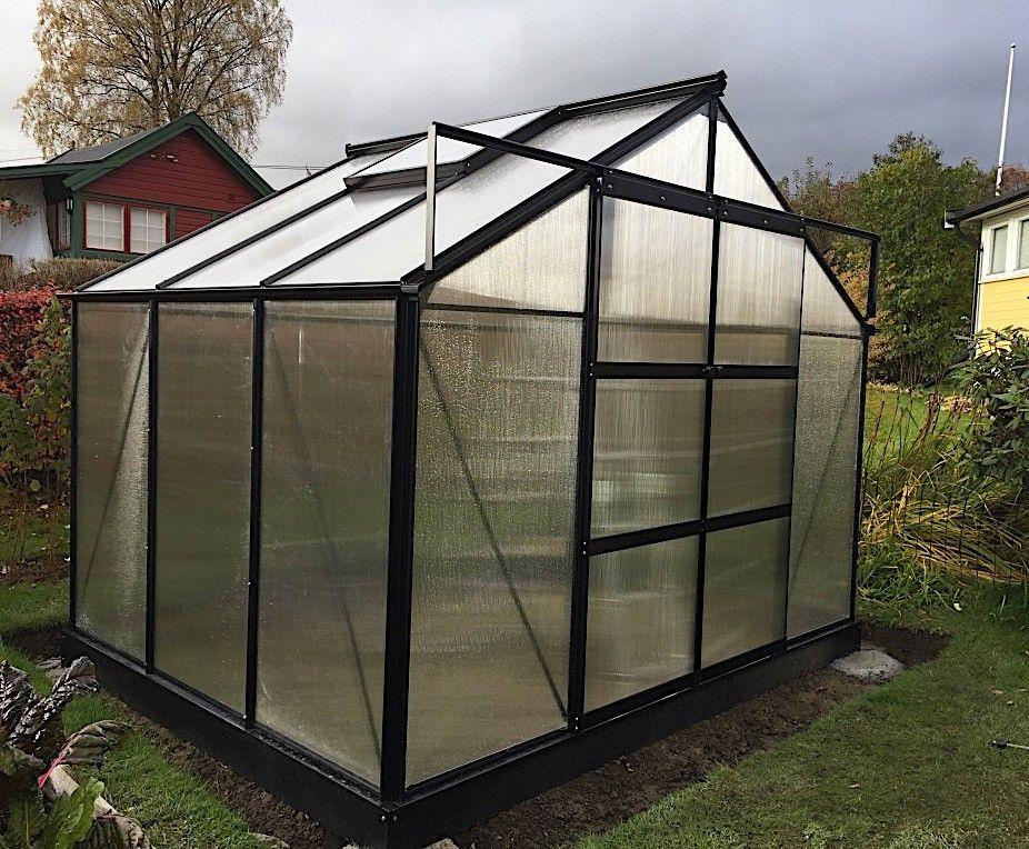 Fersk Tilbud! Solid drivhus 6,5m² Lakkert! | FINN.no QO-11