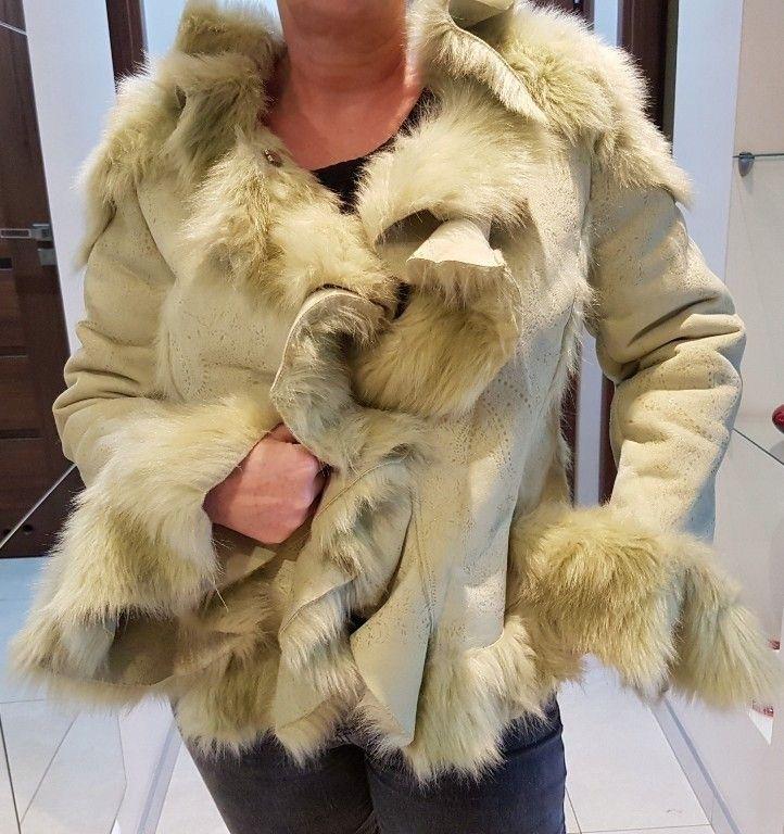 Lammeskinn  pels jakke  Shearling   FINN.no