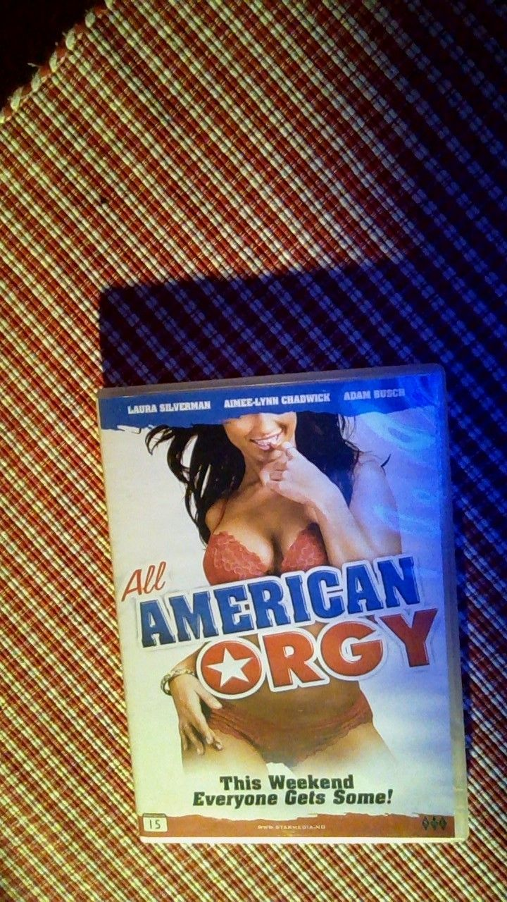 All American Orgy all american orgy (dvd)   finn.no