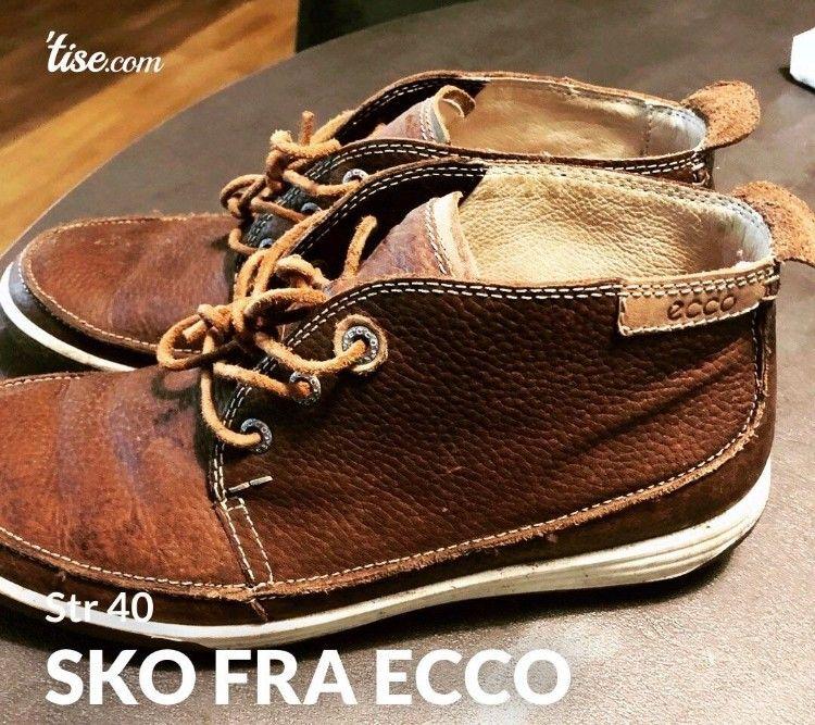 Kule sko fra Ecco (Str 40) | FINN.no