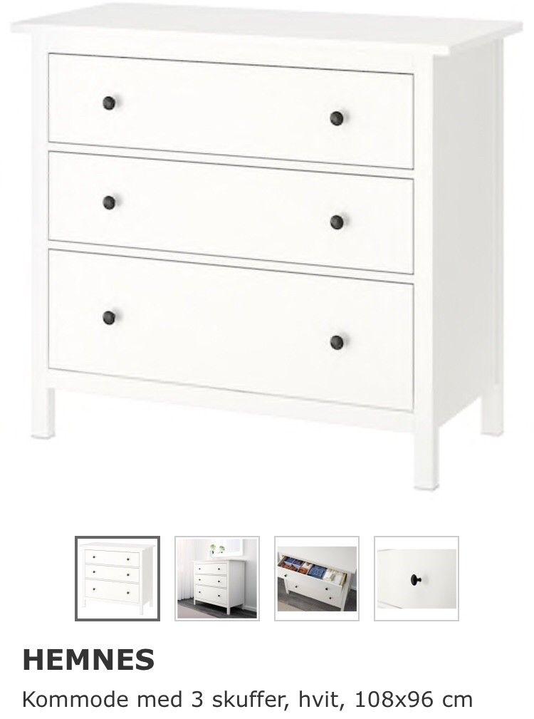 Splinternye tv bord skjenk Hemnes Ikea   FINN.no RX-34