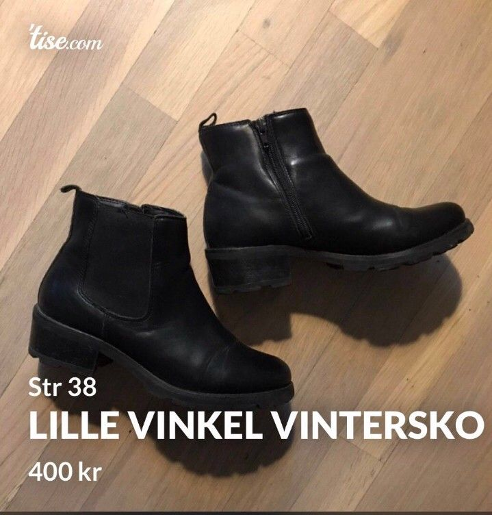 Lille Vinkel Sko vinterstøvletter str 40 | FINN.no