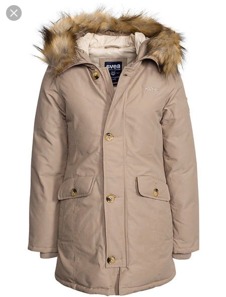 Svea Jakke Smith Beige