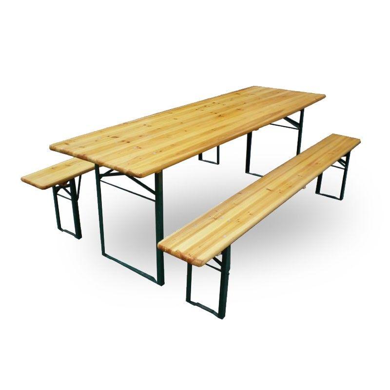Fantastisk Komplett bord- og benkesett / klappbord / klappbenk MN-85