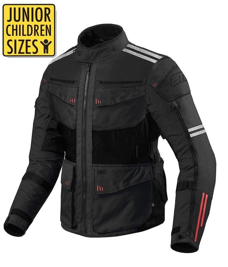 Barn Junior mc klær mc dress mc bukser KEVLAR inkl. CE