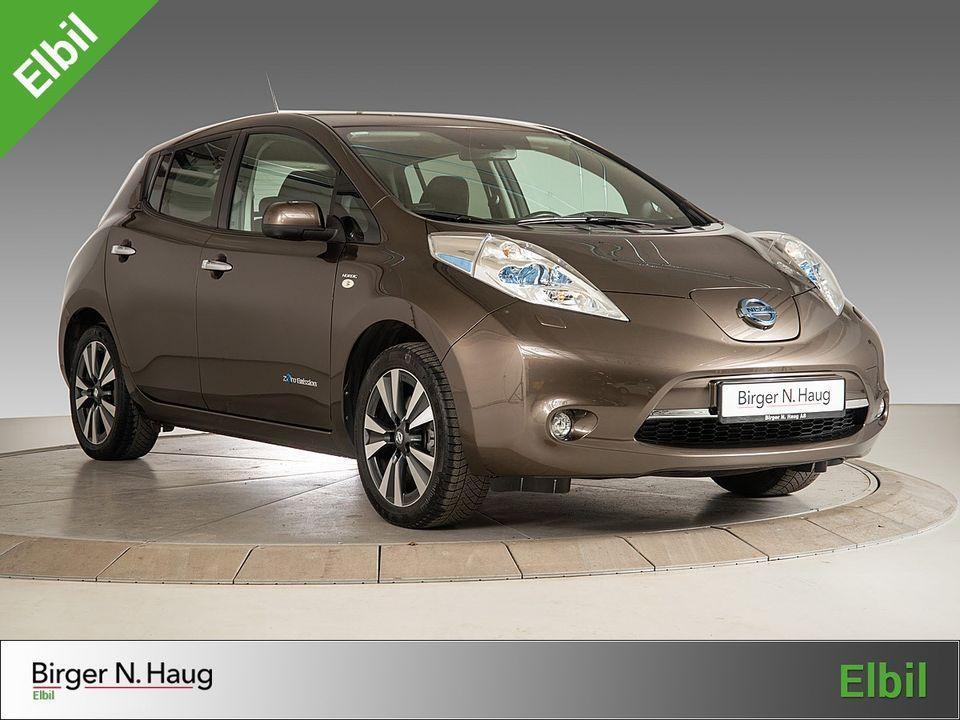 Brukt Nissan Leaf 2016 | 76 200 km | Birger N. Haug