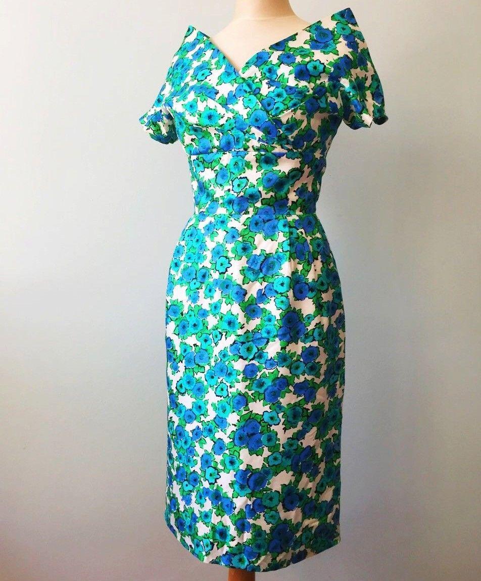 e7106803 Vintage 50-talls silkekjole - ubrukt! | FINN.no