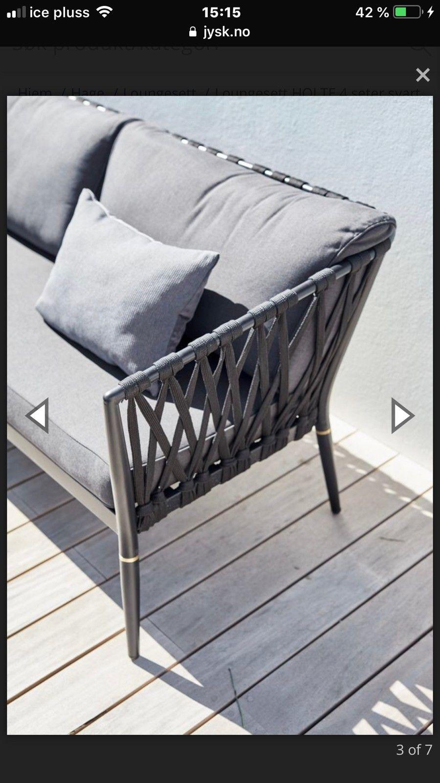 Alle nye Hage møbler, holte fra jysk | FINN.no DS-67