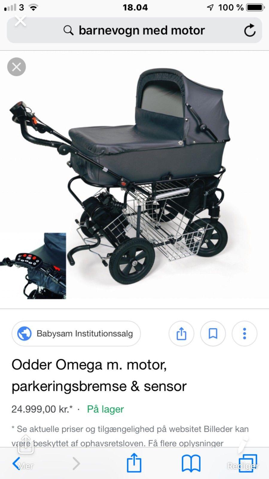 86326d82042 Elektrisk barnevogn   FINN.no