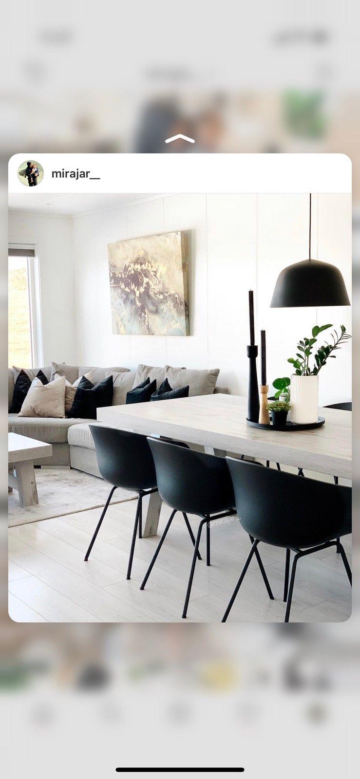 Matchende spisebord og stuebord | FINN.no