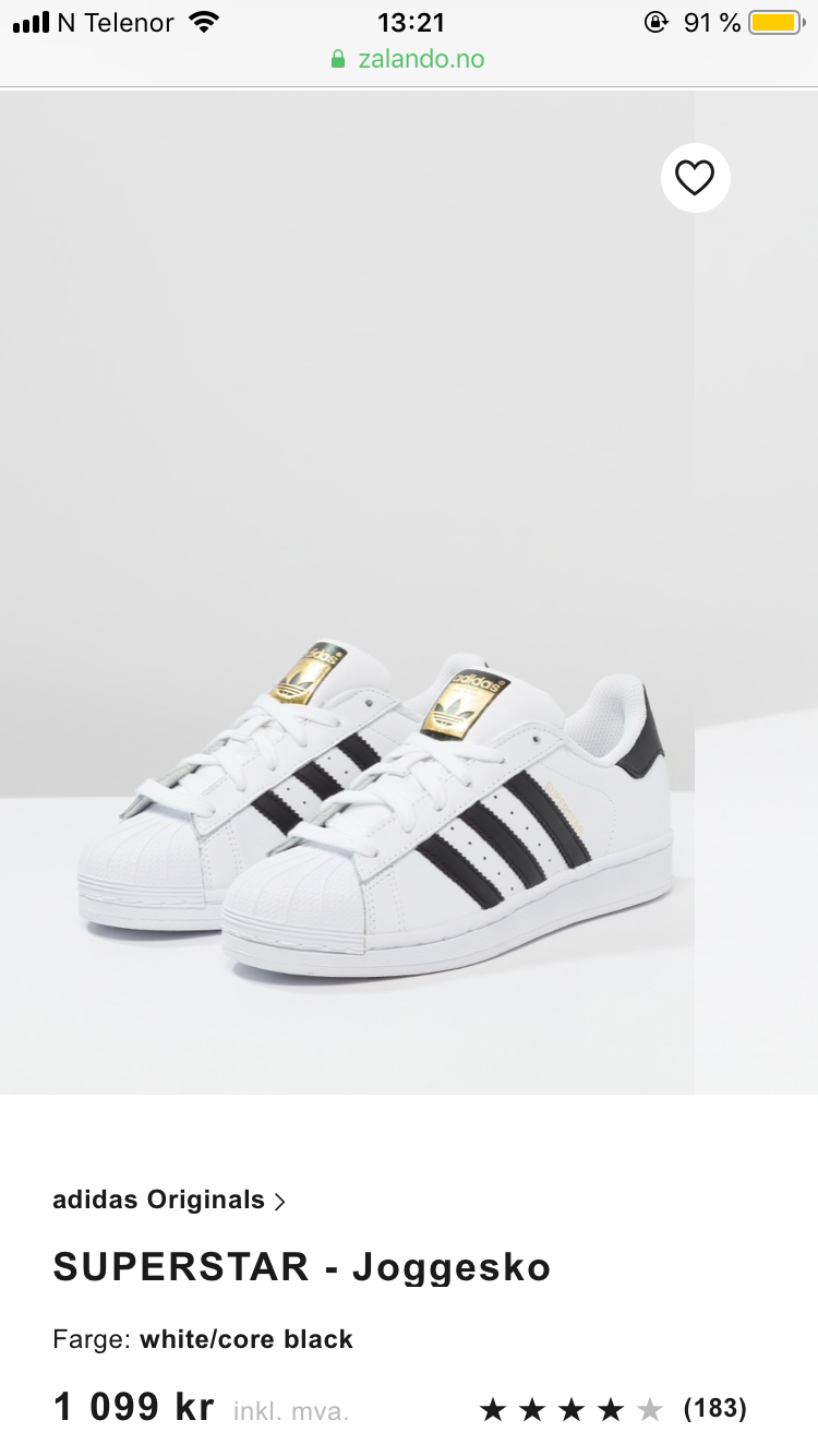 Adidas Originals sko, str. 40 | FINN.no