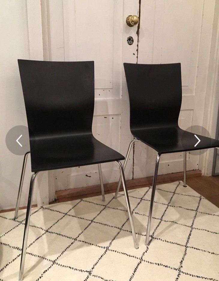 2 italienske designstoler fra Domitalia   FINN.no