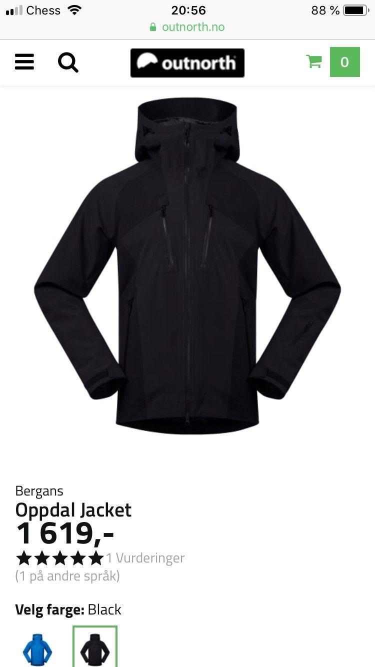 0ab51dcc Bergans Oppdal jakke | FINN.no