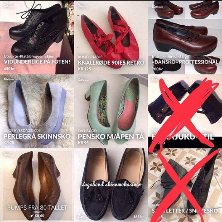 Diverse skopar til dame til høst, vår og vinter. Småsko og