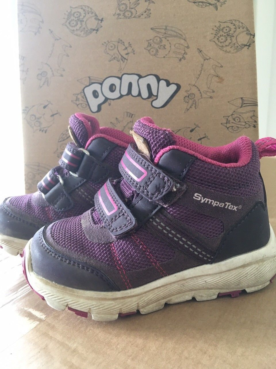 Ponny Goretex sko, høye str 22 | FINN.no