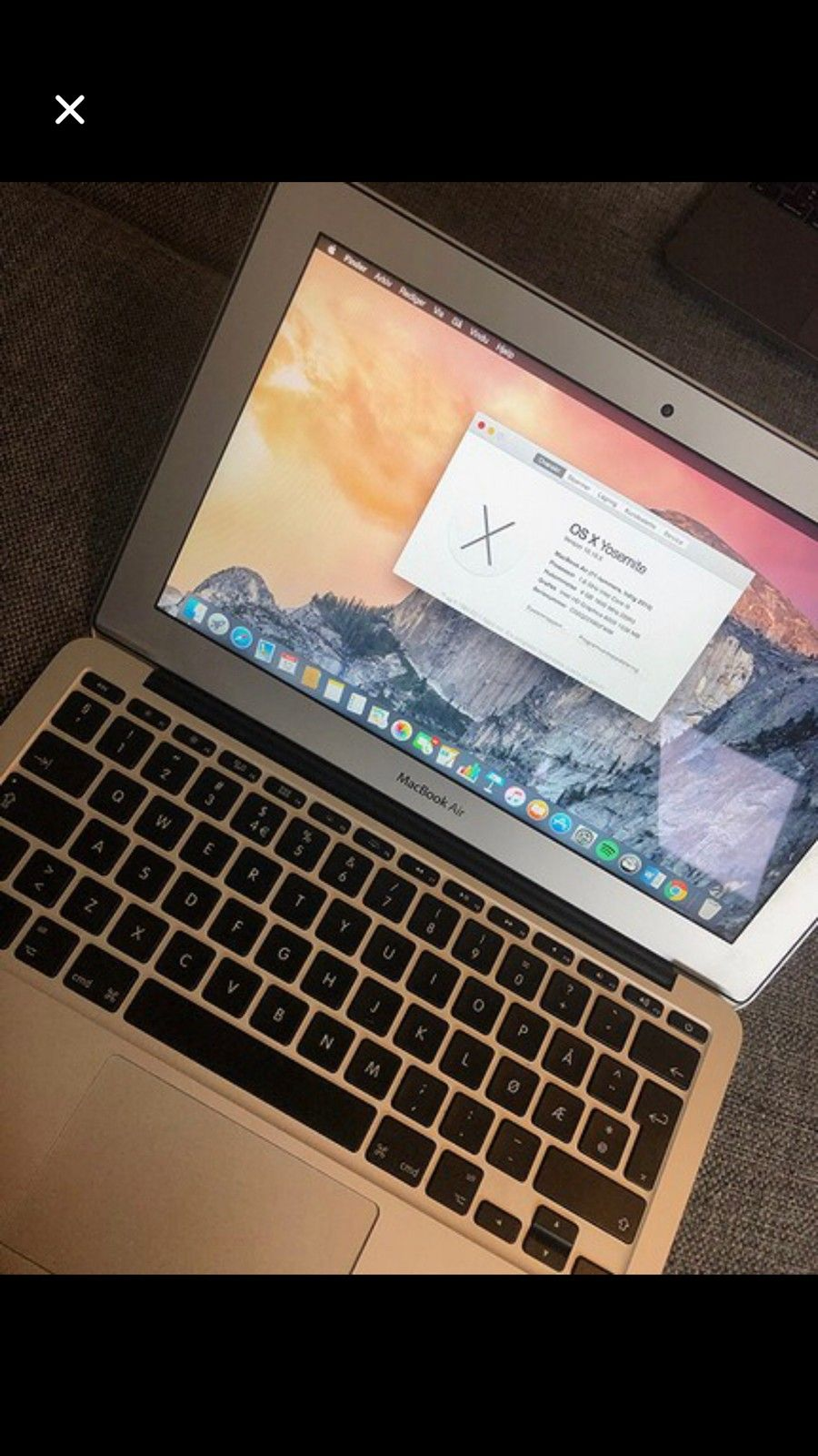 Macbook Air 11 2013 | FINN.no