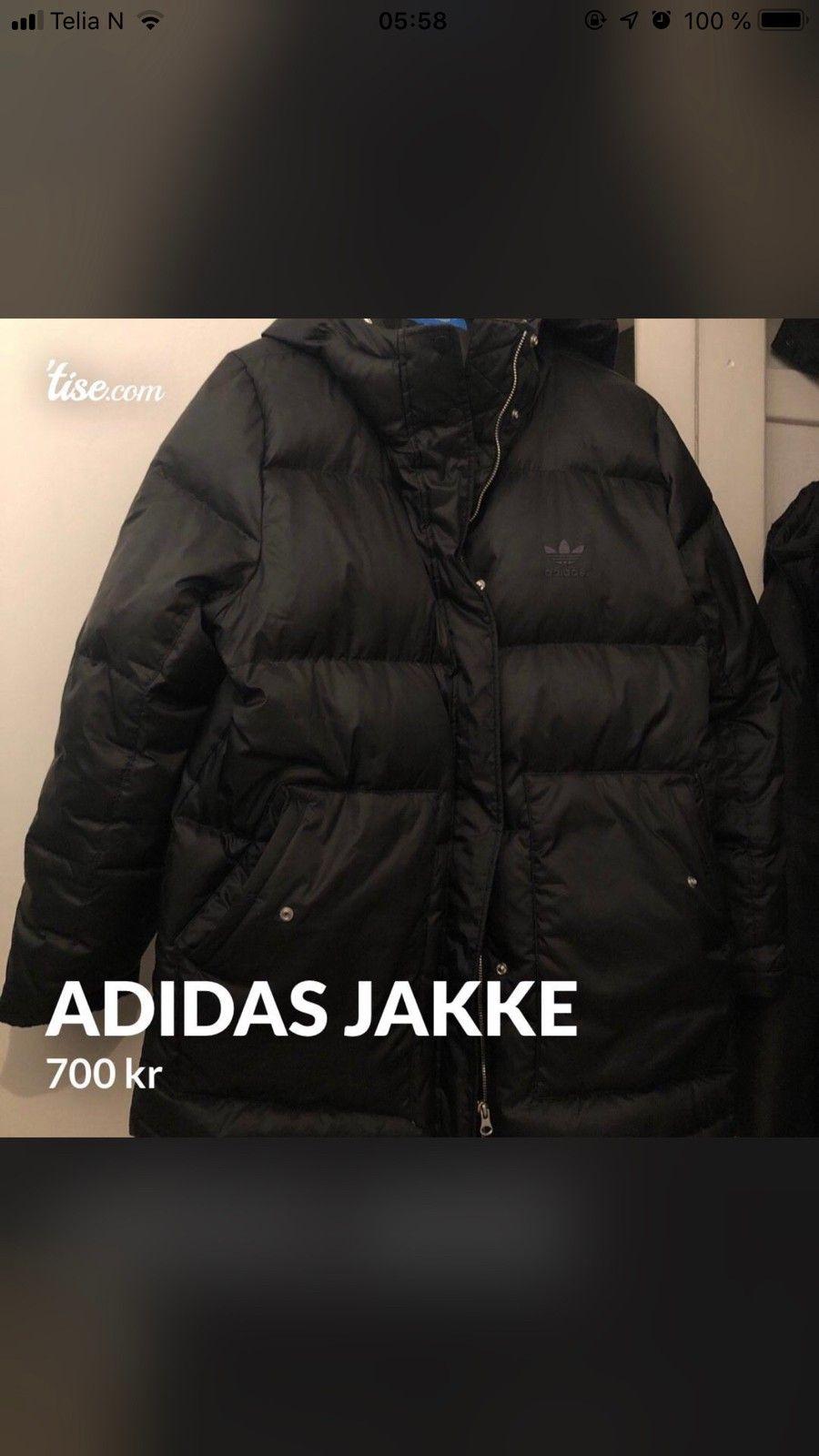 Adidas vinterjakke   FINN.no