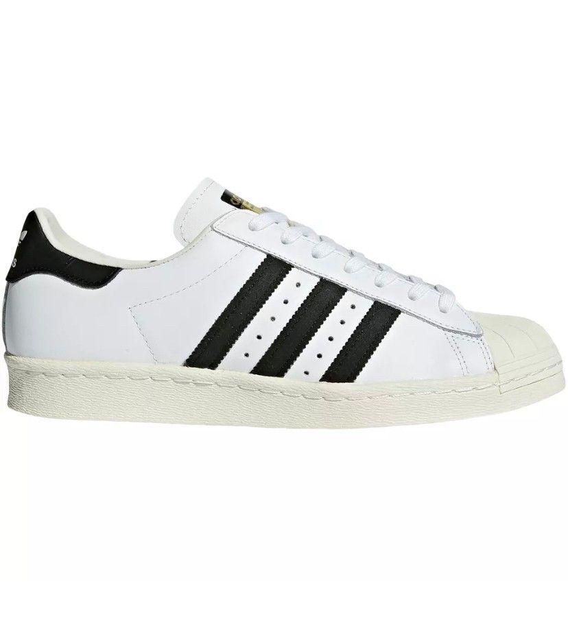 Adidas Originals Superstar 80's str. UK 10,5 | FINN.no