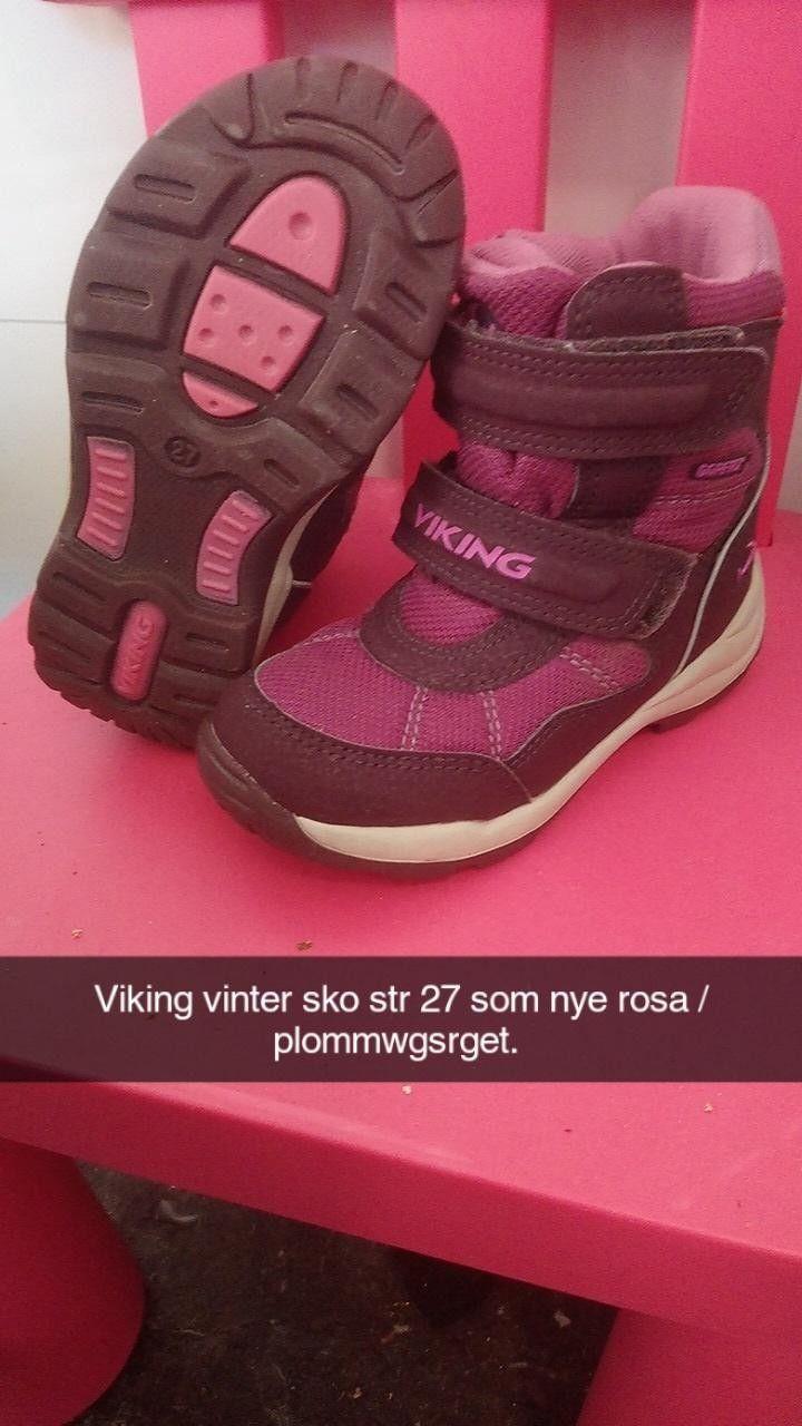 Viking vintersko str 27 jente | FINN.no